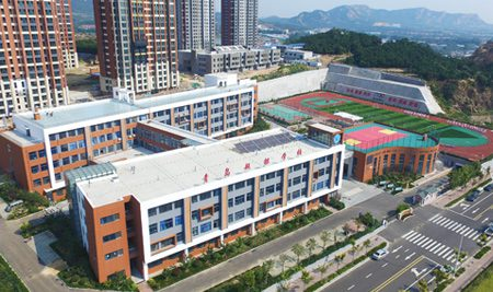 青岛西海岸新区超银学校 width=